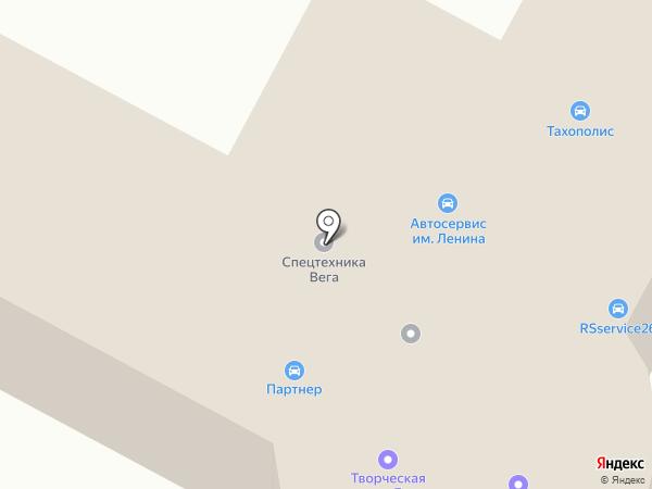 ИТИРУС на карте Ставрополя