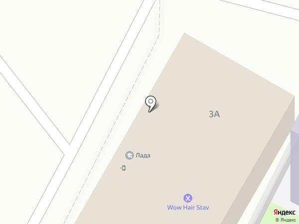 Центр права и защиты на карте Ставрополя