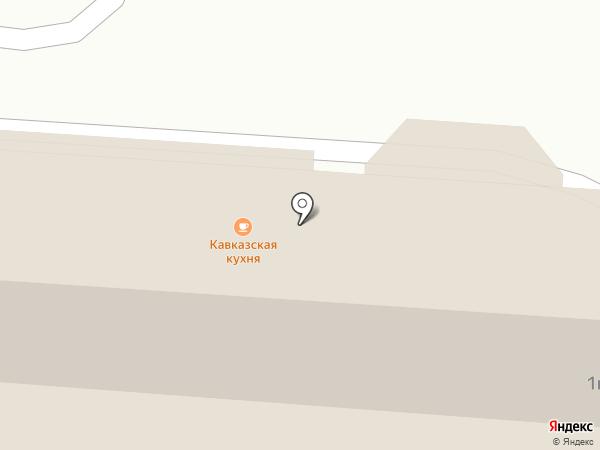 Сластена на карте Ставрополя