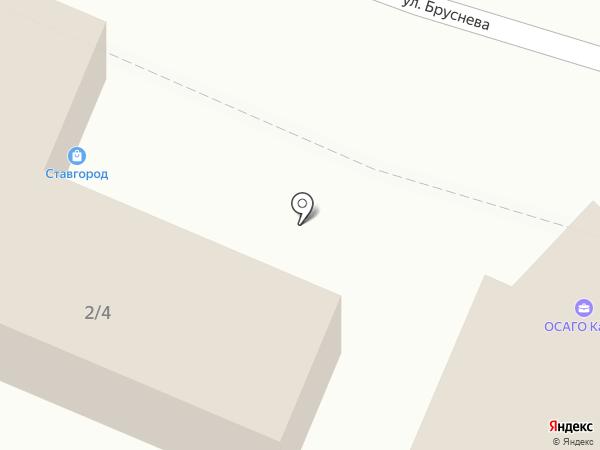 1Xbet на карте Ставрополя