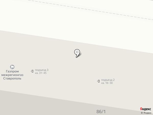 Свежая курочка на карте Ставрополя