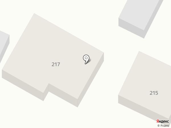 Продуктовый магазин на карте Верхнерусского