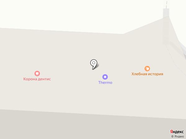 Магазин теплых полов на карте Ставрополя