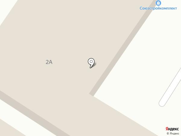 АРТ-ТРЭК на карте Ставрополя