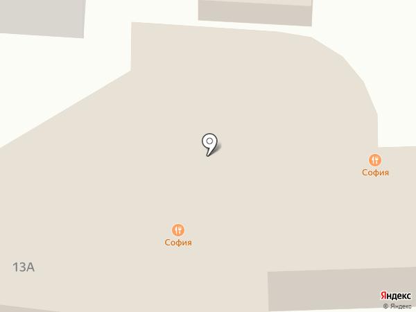 Чиполлино на карте Ставрополя