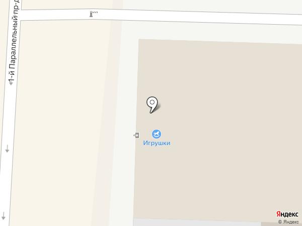 Двери Оптторг на карте Ставрополя