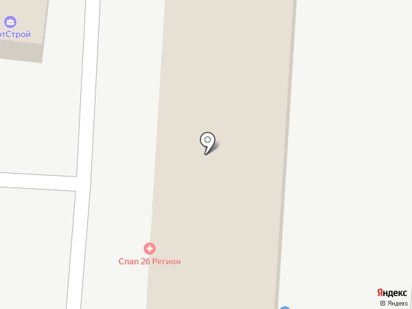 Оптово-розничная компания на карте Ставрополя