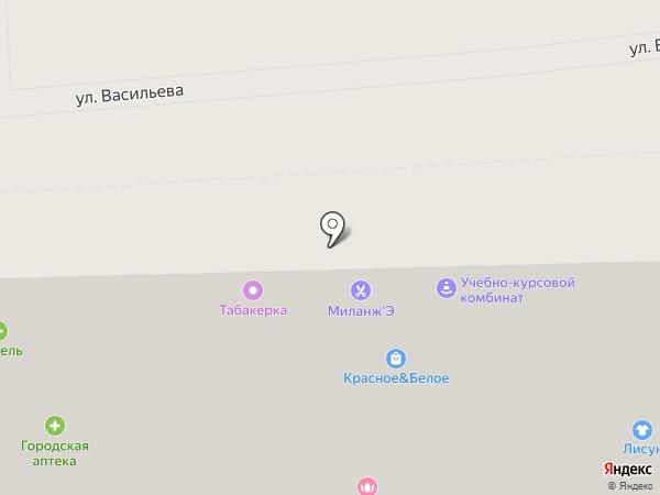 Автошкола 26 на карте Ставрополя