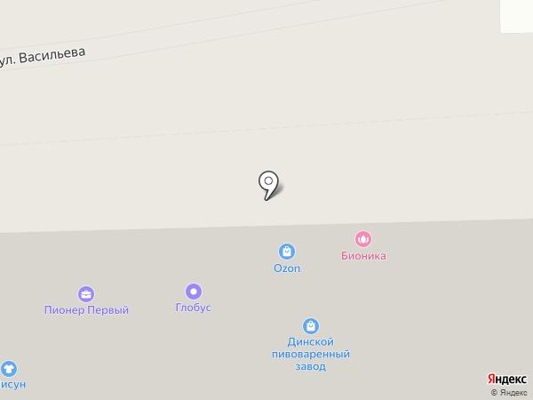Клеопатра на карте Ставрополя