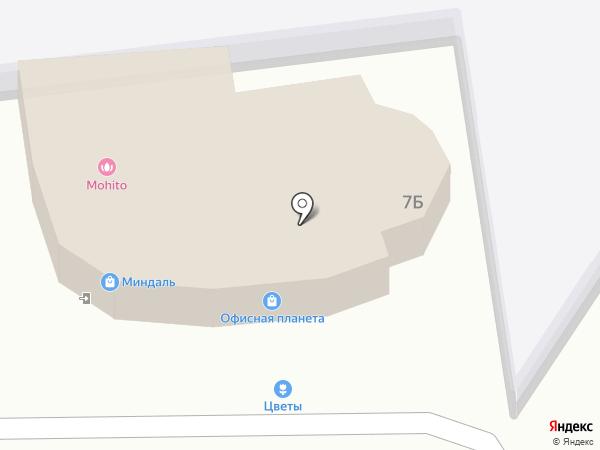 Офисная Планета на карте Ставрополя