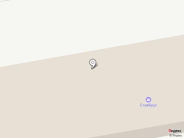 ВИАНОР на карте Ставрополя