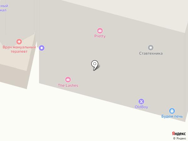 Avenue на карте Ставрополя