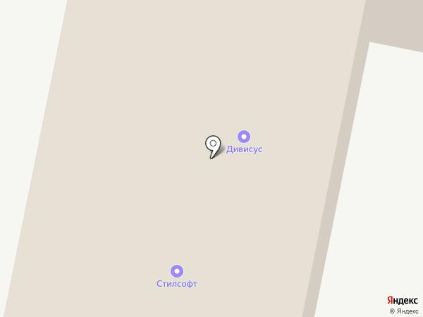 Стилсофт на карте Ставрополя