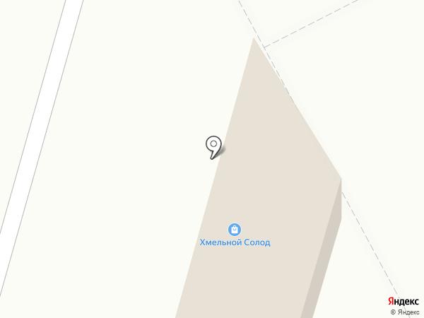 Хмельной Солод на карте Ставрополя