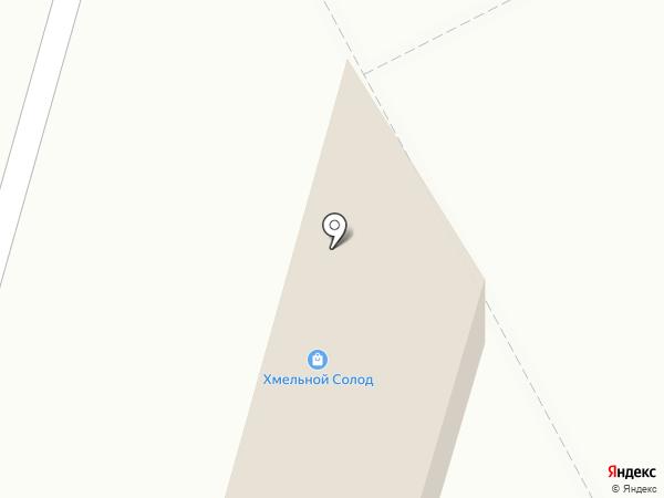 Хмельной Погребок на карте Ставрополя