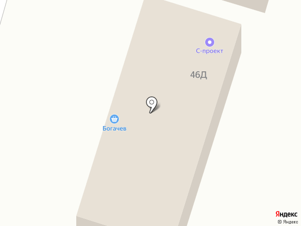 Мясной двор на карте Ставрополя