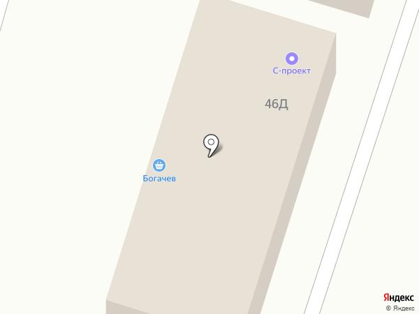 S-ПРОЕКТ на карте Ставрополя