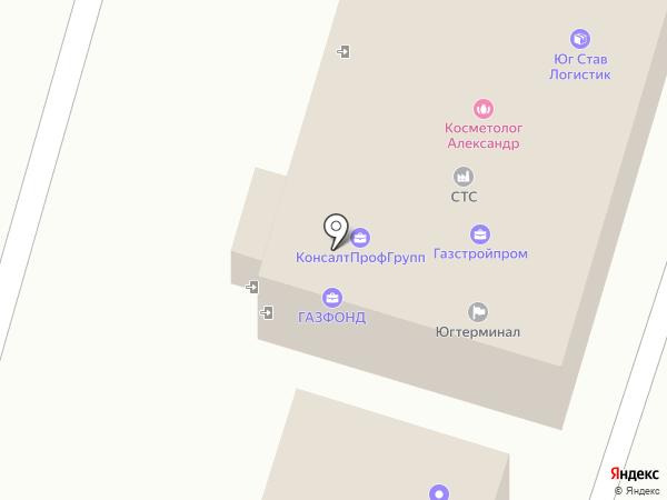 ЮрCity на карте Ставрополя