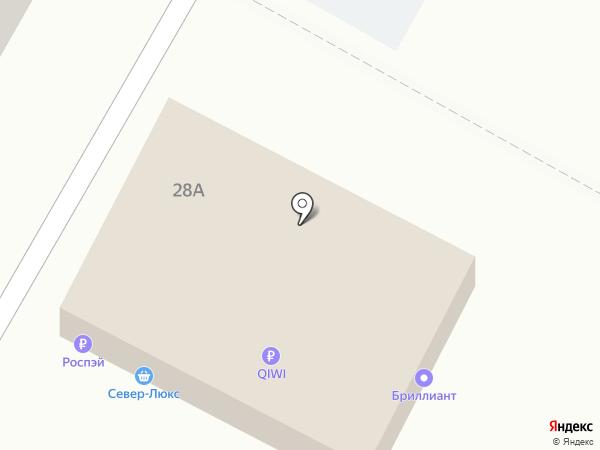 Север-Люкс на карте Ставрополя