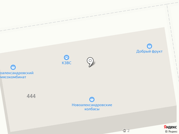 Краснодарзооветснаб на карте Ставрополя
