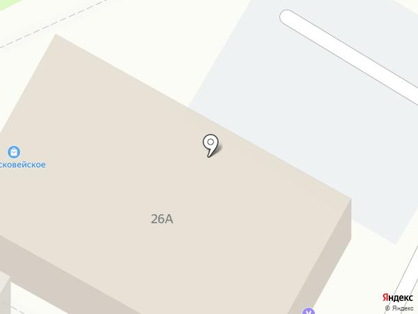 Банкомат, Банк Возрождение на карте Ставрополя