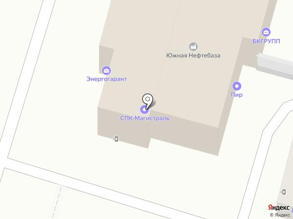 Ферра на карте Ставрополя