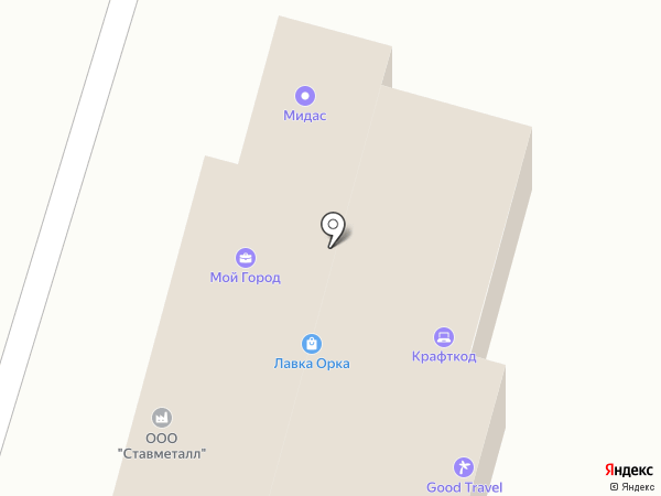 СтавМедТорг на карте Ставрополя