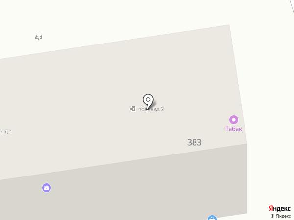 Теплоокно на карте Ставрополя