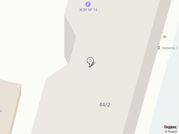 ЖЭУ-14 на карте Ставрополя