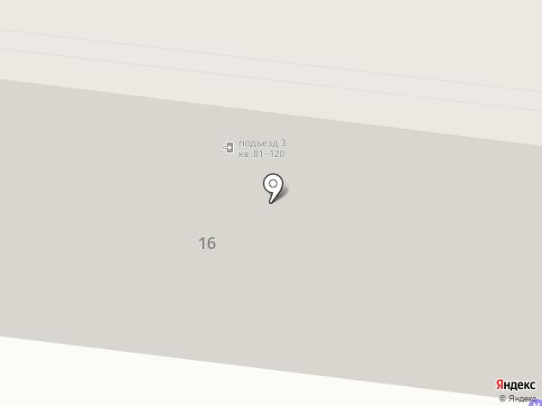 Парикмахерская на ул. Бруснёва на карте Ставрополя
