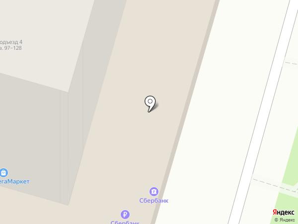 Сбербанк, ПАО на карте Ставрополя