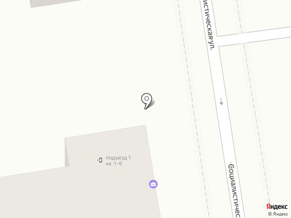 Адвокатский кабинет Панченко И.В. на карте Ставрополя