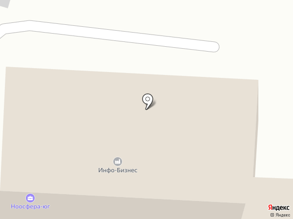 Инфо-Бизнес на карте Ставрополя