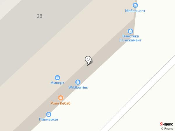 Лилия на карте Ставрополя