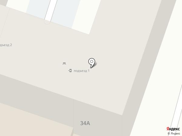 ДЮСШ единоборств г. Ставрополя на карте Ставрополя