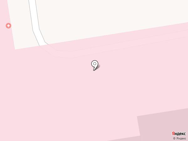 Краевая детская клиническая больница на карте Ставрополя