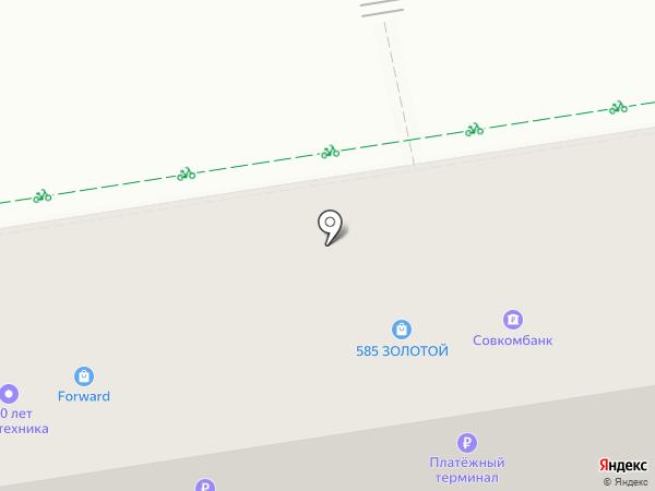 Совкомбанк, ПАО на карте Ставрополя