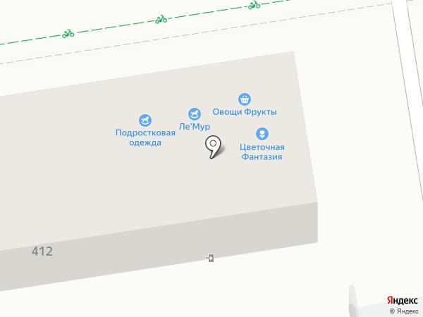 Цветочная фантазия на карте Ставрополя