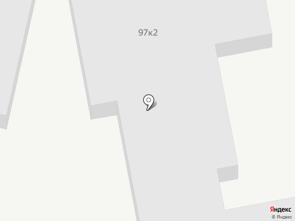 ДАН-АВТО на карте Ставрополя