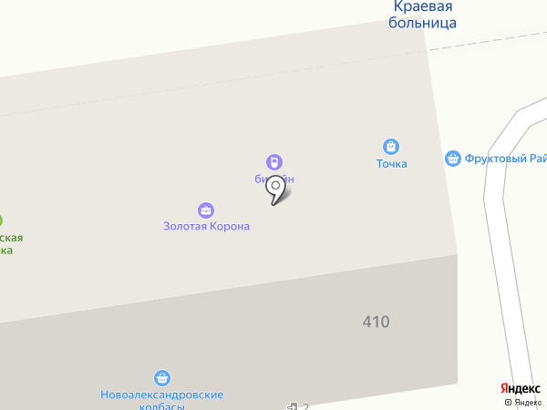 Новоалександровские колбасы на карте Ставрополя