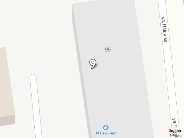 МТ-Тюнинг на карте Ставрополя