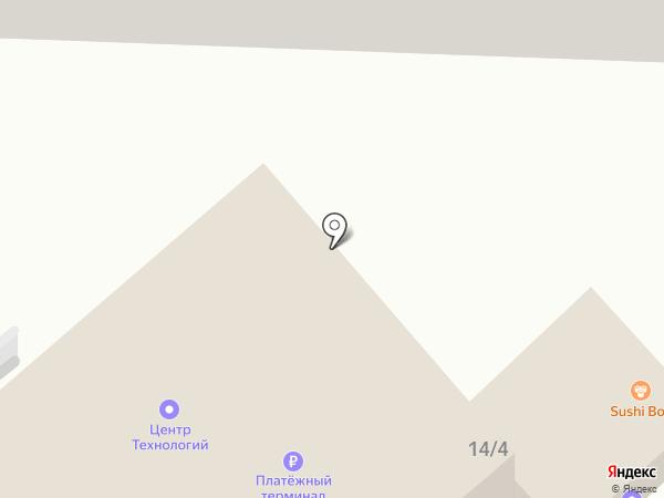 Comepay на карте Ставрополя
