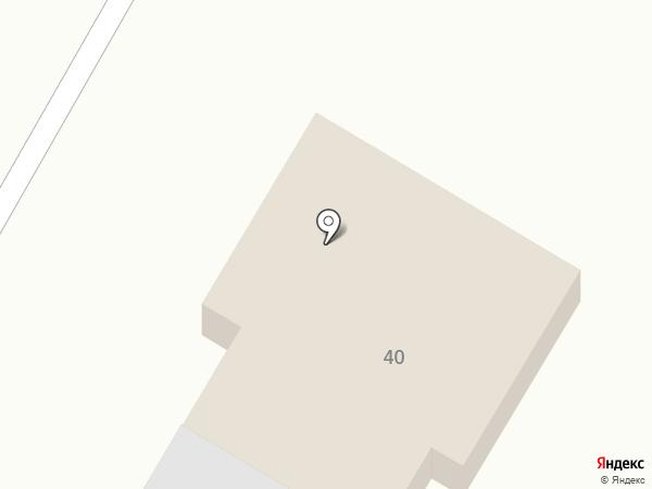 Шиномонтажная мастерская на карте Верхнерусского