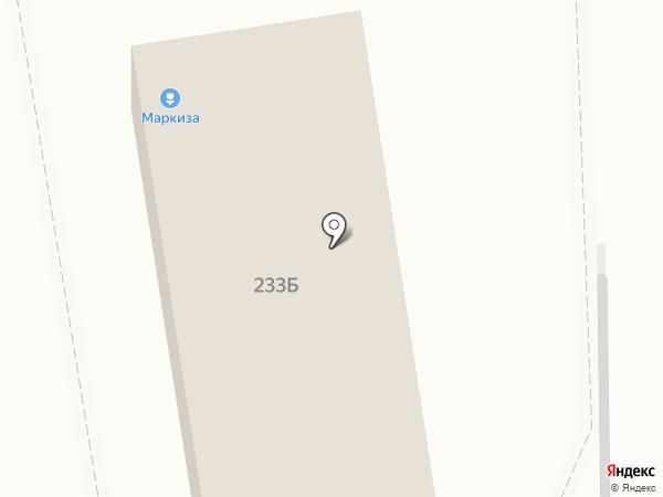 Шиномонтажная мастерская на Октябрьской на карте Ставрополя