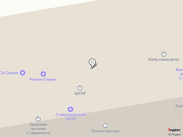 Контур-С на карте Ставрополя