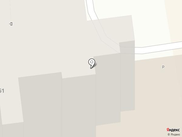 АКБ Авангард на карте Ставрополя