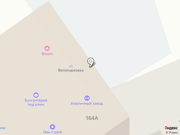 Кирпичный завод на карте Ставрополя