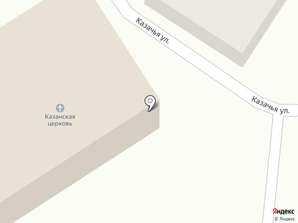 Храм Казанской Божией Матери на карте Татарки