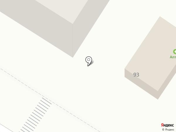 Фарос на карте Верхнерусского