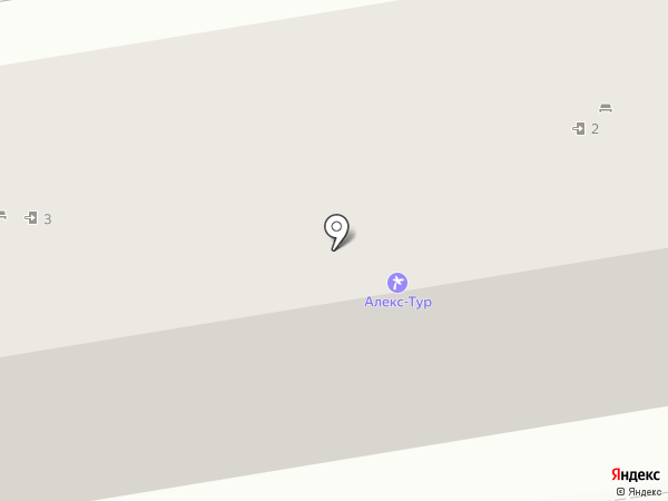 Равно=Весие на карте Ставрополя
